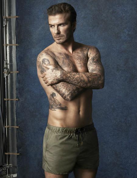 Sencilla y masculina, así es la colección de bañadores de David Beckham para H&M