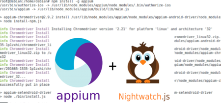 Automatizando el testing de web móviles: Appium + Nightwatch.js