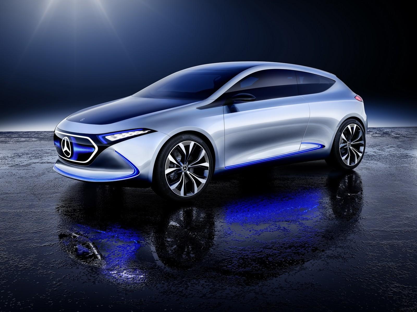 Foto de Mercedes-Benz EQ A Concept (7/15)