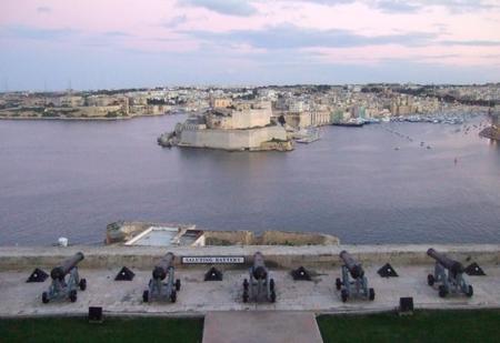 Jardines Upper Barracca, un delicioso mirador sobre La Valeta, Malta