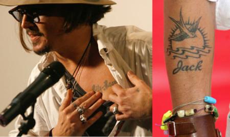 Johnny Depp Tattoos For Kids
