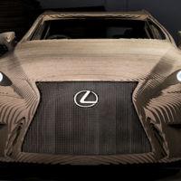 Este es el primer coche hecho con 1.700 laminas de cartón totalmente funcional