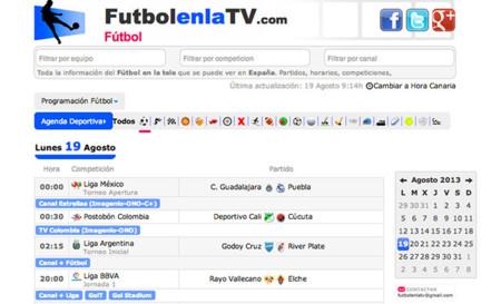 FutbolenlaTV, ¿cuándo y en qué cadena emiten los partidos de fútbol?
