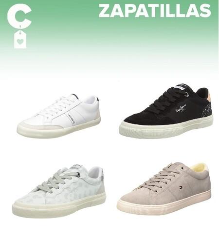 Chollos en tallas sueltas de zapatillas Lacoste, Pepe Jeans o Tommy Hilfiger en Amazon