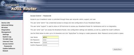Cómo cambiar la contraseña de acceso al router