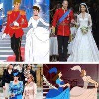 La boda real inglesa no fue como la 'Cenicienta'