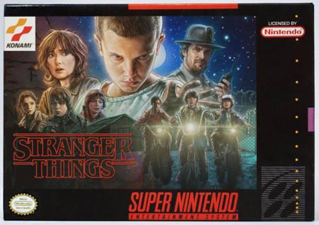 A las películas y series de 2016 les sienta de maravilla el estilo de las cajas de SNES