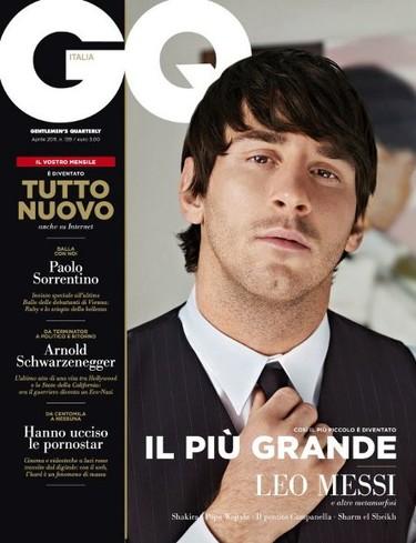 Leo Messi sigue acaparando portadas, ahora GQ Italia