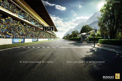 Renault F1 city