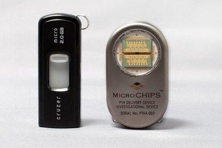 ¿Se te olvida tomar la medicina? Con este microchip eso ya no será un problema