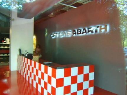 Fotos de los concesionarios exclusivos Abarth