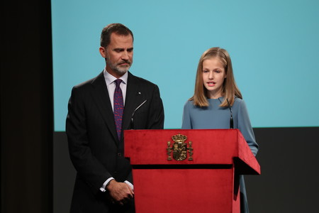 Princesa Leonor Acto Oficial 1