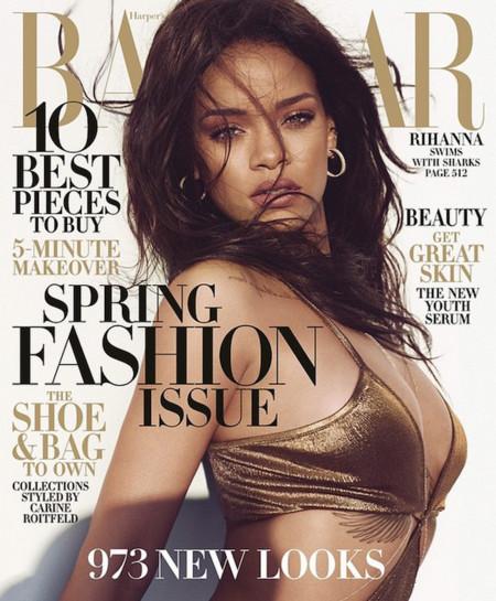 Rihanna Harper Bazaar