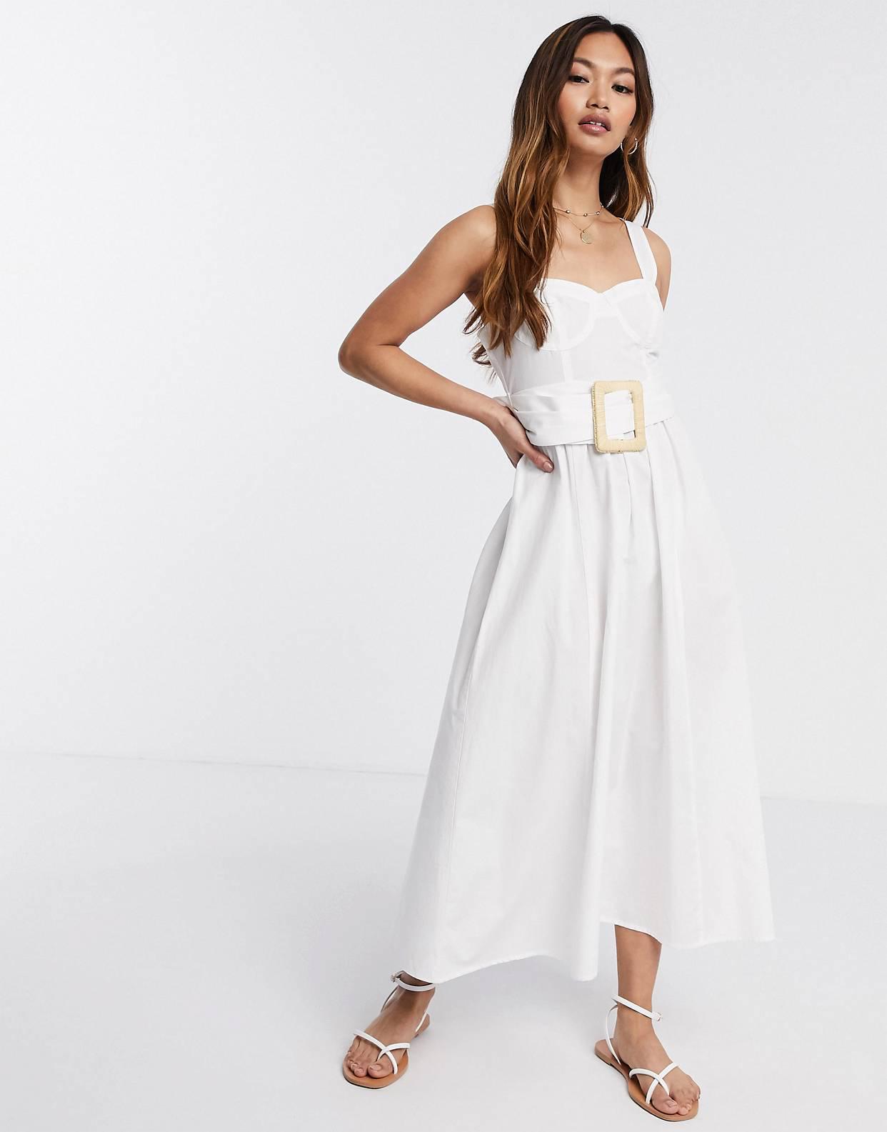 Vestido blanco Asos