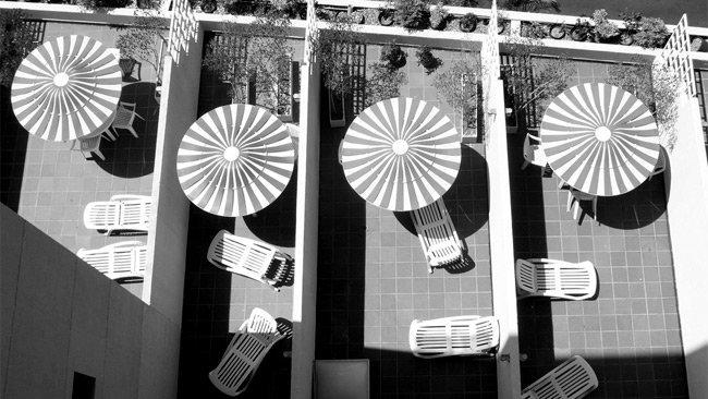 terrazas - sombrillas