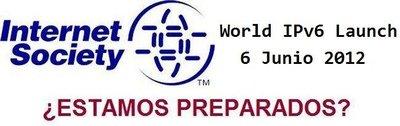 IPv6 será activada de forma permanente por las grandes empresas de Internet el 6 de junio de 2012