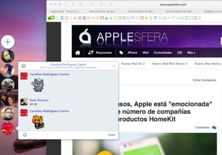Chat Heads, la app de OS X imprescindible de todos los seguidores de Facebook Messenger
