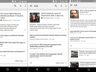 Google News apuesta por las noticias locales