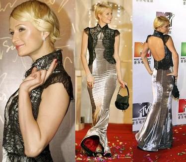 Paris Hilton en la MTV Style Gala