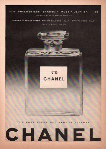 Foto de Chanel No. 5 - publicidad del 30 al 60 (12/61)