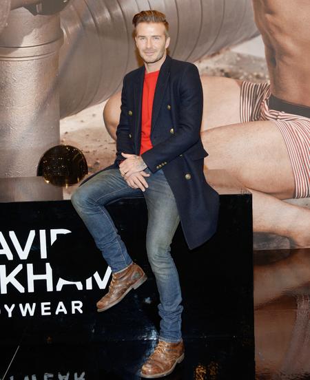 David Beckham presenta body wear