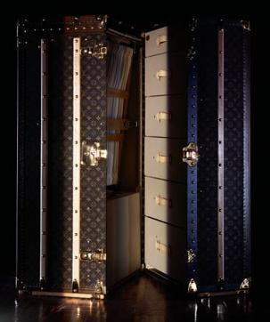Viajar... en el tiempo, con el Wardrobe de Louis Vuitton