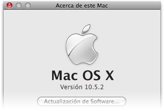 ¿Cuándo diablos saldrá Mac OS X 10.5.2?