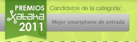 Mejor Smartphone de entrada en 2011, vota por tu preferido