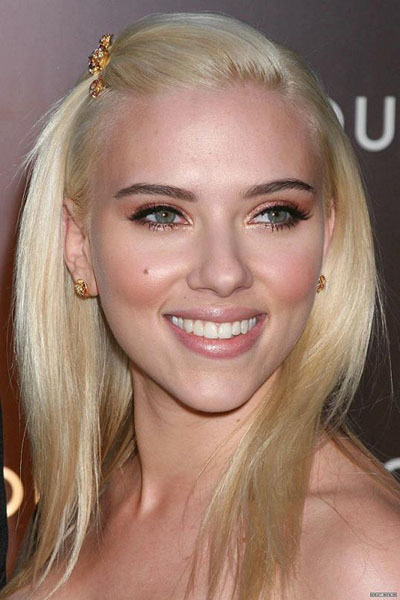 Foto de Peinados navideños, por Scarlett Johansson (7/9)