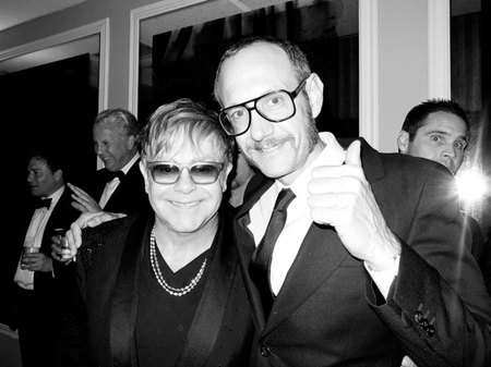 Elton John por Terry Richardson