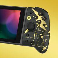 Este modelo del control HORI Split Pad Pro para Nintendo Switch está de oferta en Amazon México, con diseño de Pikachu por 1,422 pesos