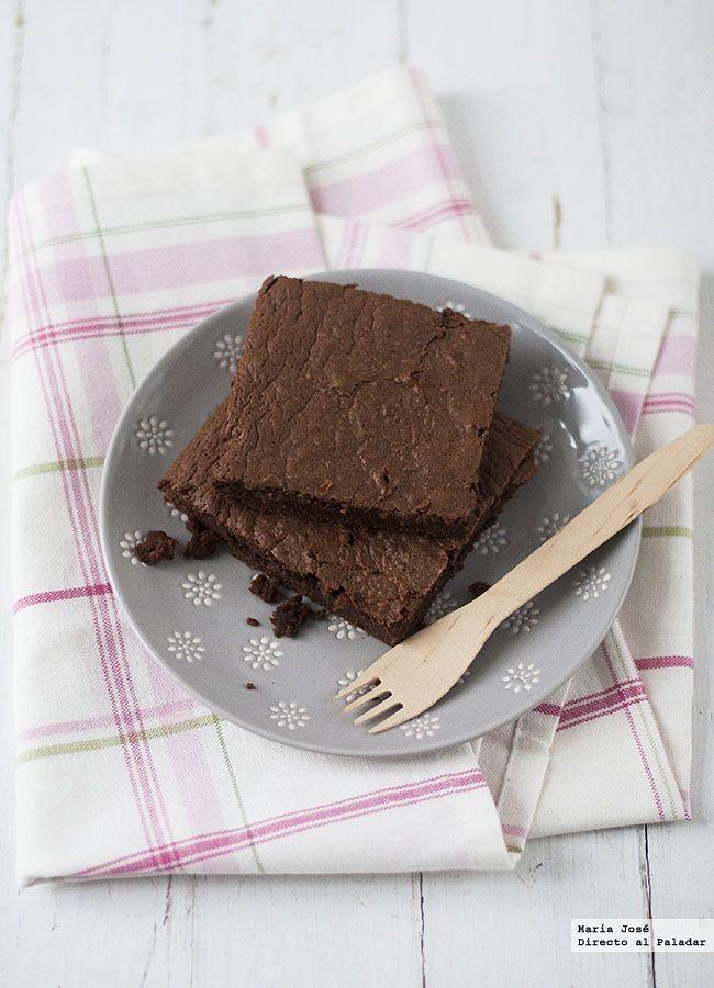 Brownie De Chocolate Y Leche Condensada Receta De Cocina Fácil Sencilla Y Deliciosa