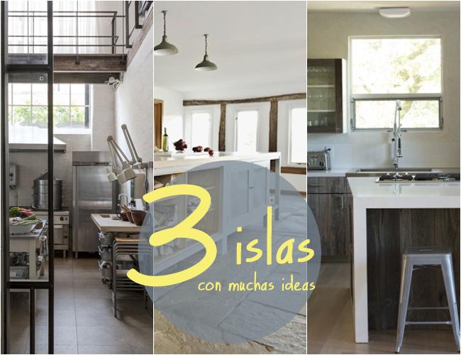 Islas de cocina qu podemos hacer con ellas for Cocinas con islas para espacios pequenos