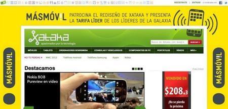 Nuevo diseño de Xataka 2012, y a Xataka México también llegará