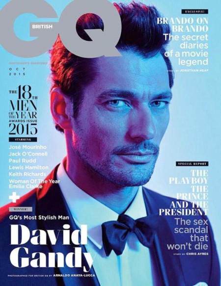 Porque no hay dos sin tres, David Gandy copa las portadas de las cabeceras más importantes