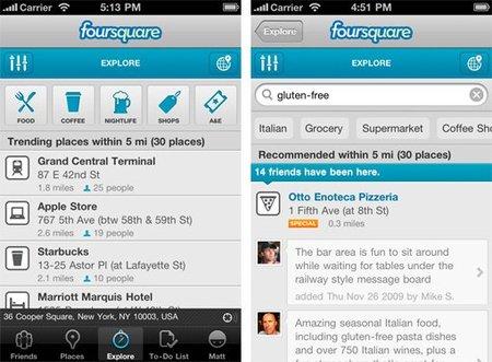 Foursquare descubre los secretos de su sistema de recomendación