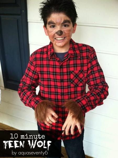 Disfraz Halloween Facil Barato Hombre Lobo 1