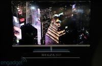 Toshiba muestra sus nuevos televisores Regza de las series J7 y Z7 en la CEATEC de Japón
