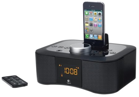 Clock Radio Dock, base despertador de Logitech para madrugadores