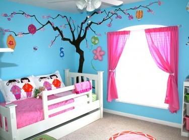 Puertas abiertas: un dormitorio infantil de inspiración japonesa