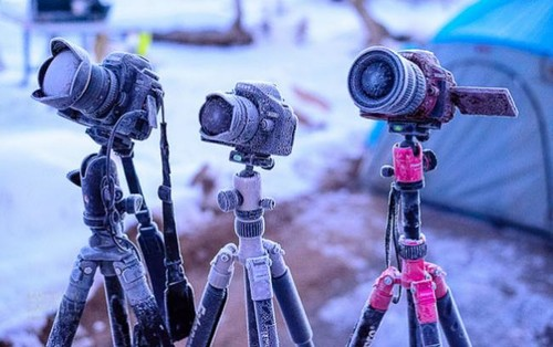 Esto es lo que puedes hacer si se congela tu cámara para evitar que resulte dañada