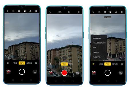 Realme 5 Pro App Camara