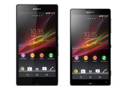Sony Xperia Z y ZL, las primeras imágenes oficiales