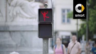 ¿Cómo lograr que los adultos respeten el semáforo en rojo, quizás si la señal baila?