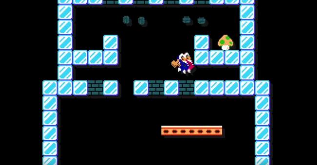 Super Mario Maker Ice Climbers