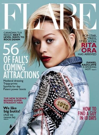 Una Rita Ora de diez en la portada de Flare
