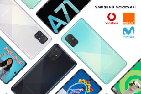 Dónde comprar el Samsung Galaxy A71 más barato: comparativa mejores ofertas con operadores