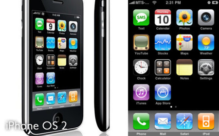 iPhone 3G con iPhone OS 2