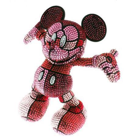 Mickey Mouse vestido de cristales