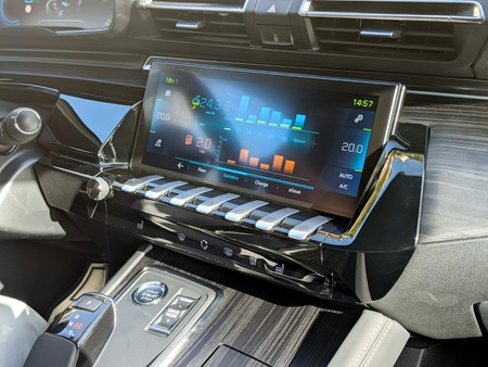 Panel Control Peugeot
